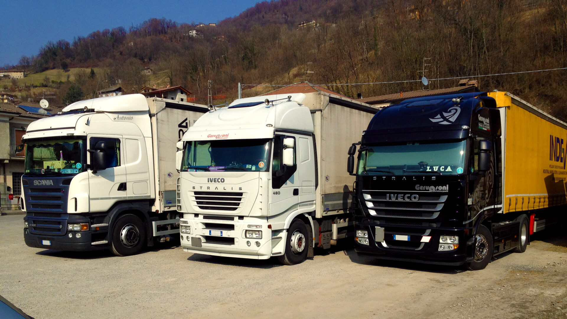 automezzi gervasoni trasporti trasporto distribuzione merci